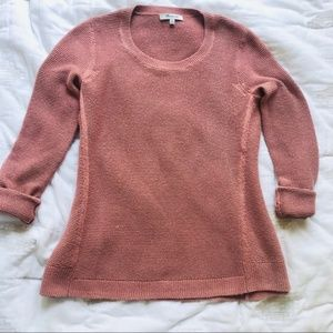 Madewell Knit Crewneck Sweater Blush Pink Size XXS